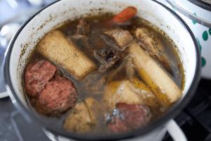 domowy rosół, keto kolacja, keto zupa, dieta ketogeniczna, ketoza, ketomaniak.pl