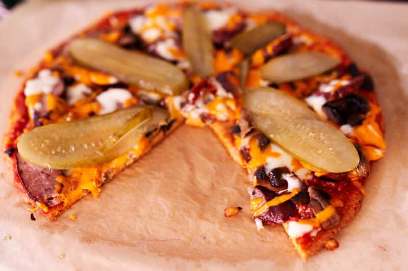 keto pizza przepis, keto kolacja, keto pizza, dieta ketogeniczn, ketoza, ketomaniak.pl