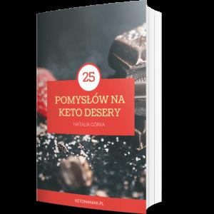 keto desery, keto przepisy, keto słodycze, keto słodkości, ketomaniak.pl